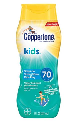 Coppertone Label