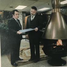 Bill Kane and Gerry Chouinard