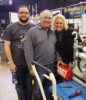 Joe Kane, Bill Kane and Mary Keyzer