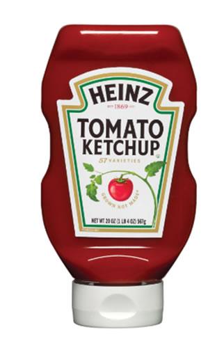 Heinz ketchup label