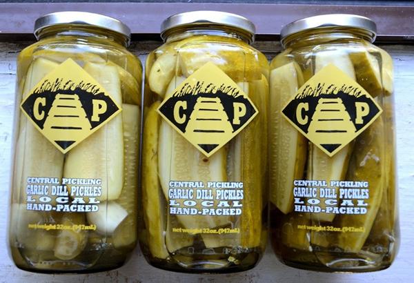 Central Pickling Garlic Dill Pickles Label
