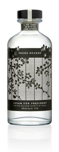 Koval Brandy Label