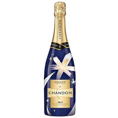 Chandon Holiday Bottle