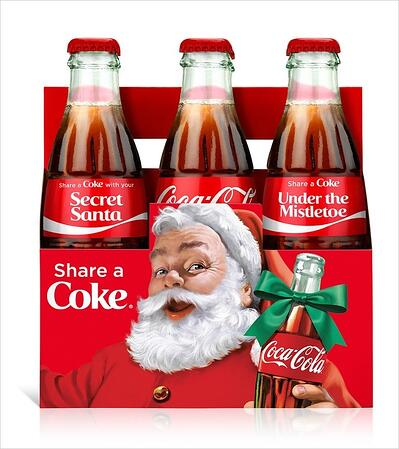 Coke Holiday Labels