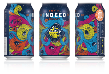 Indeed brewing label