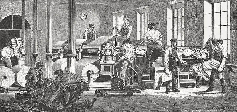 A Brief History of Printing Presses – Part 3: The Industrial Revolution