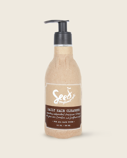 Seed cleanser label