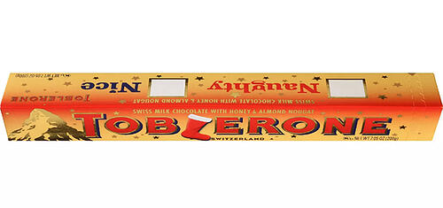 Toblerone Holiday Label