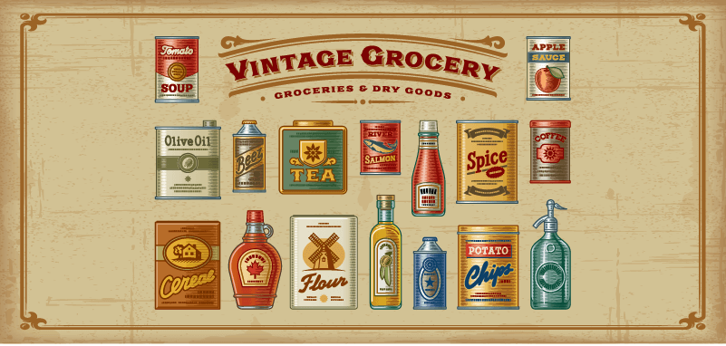Custom Labels and the Vintage Look