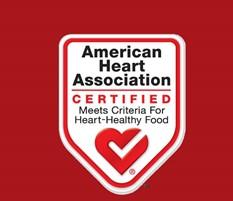 American Heart Association label
