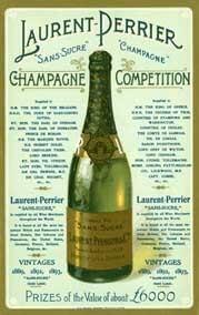 Laurent-Perrier wine label