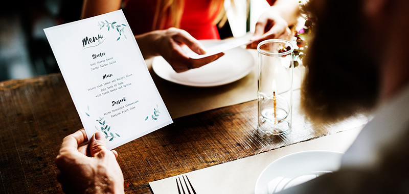 Beyond Labels: Printed Products for Restaurant and Pubs