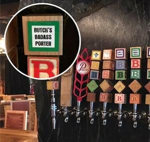 Beer tap labels