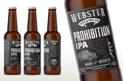 Webster Prohibition Ale