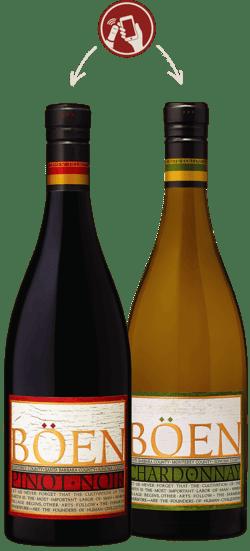 Boen wine label