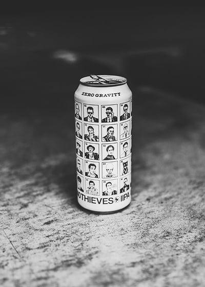 Zero Gravity Beer Label