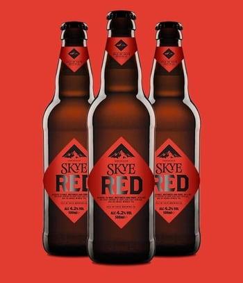 Skye Red Beer Label