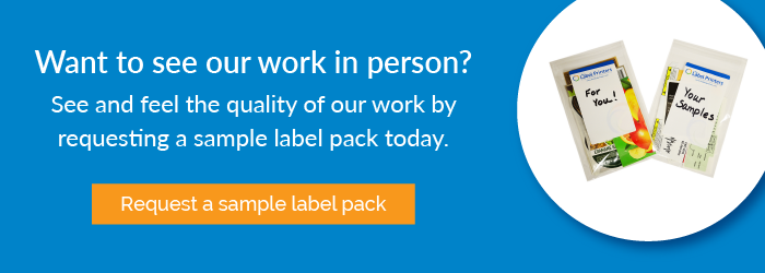 Request a Sample Label Pack